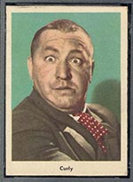 1959 Fleer Three Stooges #1 Curly - Front