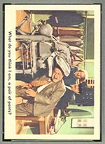 1959 Fleer Three Stooges #22 Putting pressure on - Front