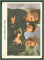 1959 Fleer Three Stooges #5 They went thattaway - Front