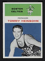 1961-1962 Fleer #19 Tommy Heinsohn Boston Celtics - Front