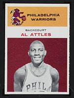 1961-1962 Fleer #1 Al Attles Philadelphia Warriors - Front