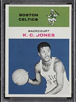 1961-1962 Fleer #22 K.C. Jones Boston Celtics - Front