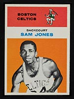 1961-1962 Fleer #23 Sam Jones Boston Celtics - Front