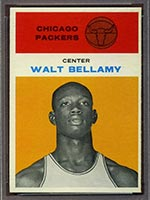 1961-1962 Fleer #4 Walt Bellamy Chicago Packers - Front