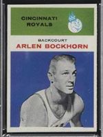 1961-1962 Fleer #5 Arlen Bockhorn Cincinnati Royals - Front