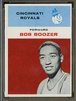 1961-1962 Fleer #6 Bob Boozer Cincinnati Royals - Front