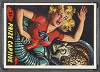 1962 Topps Mars Attacks #21 Prize Captive - Front
