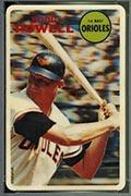 1968 Topps 3-D Boog Powell Baltimore Orioles