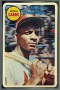 1968 Topps 3-D Curt Flood St. Louis Cardinals