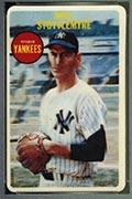 1968 Topps 3-D Mel Stottlemyre New York Yankees