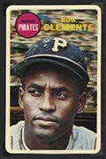 1968 Topps 3-D Roberto Clemente Pittsburgh Pirates
