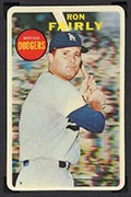 1968 Topps 3-D Ron Fairly (No Dugout) Los Angeles Dodgers