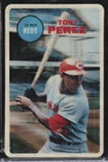1968 Topps 3-D Tony Perez Cincinnati Reds