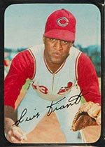 1969 Topps Supers #13 Luis Tiant Cleveland Indians - Front