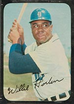 1969 Topps Supers #16 Willie Horton Detroit Tigers - Front