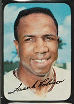 1969 Topps Supers #2 Frank Robinson Baltimore Orioles - Front
